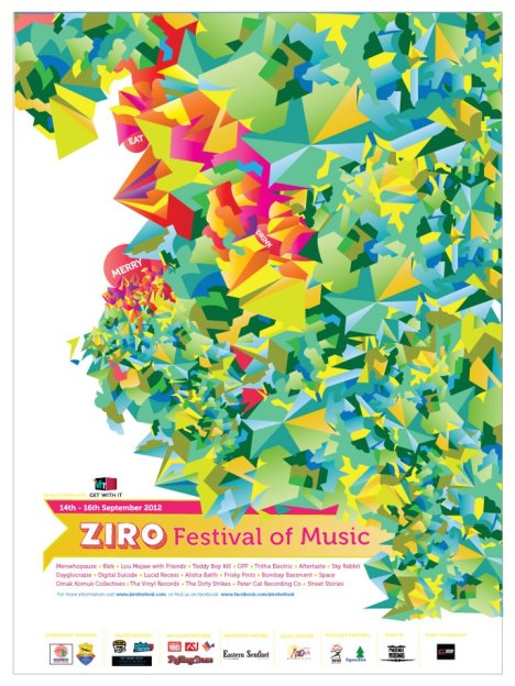 Ziro Festival of Music-the poster